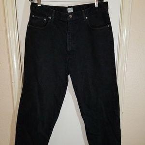 Calvin Klein Men's Straight Fit Jeans Black 38